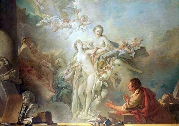 Pygmalion و Galatea   فرانسوا باوتشر