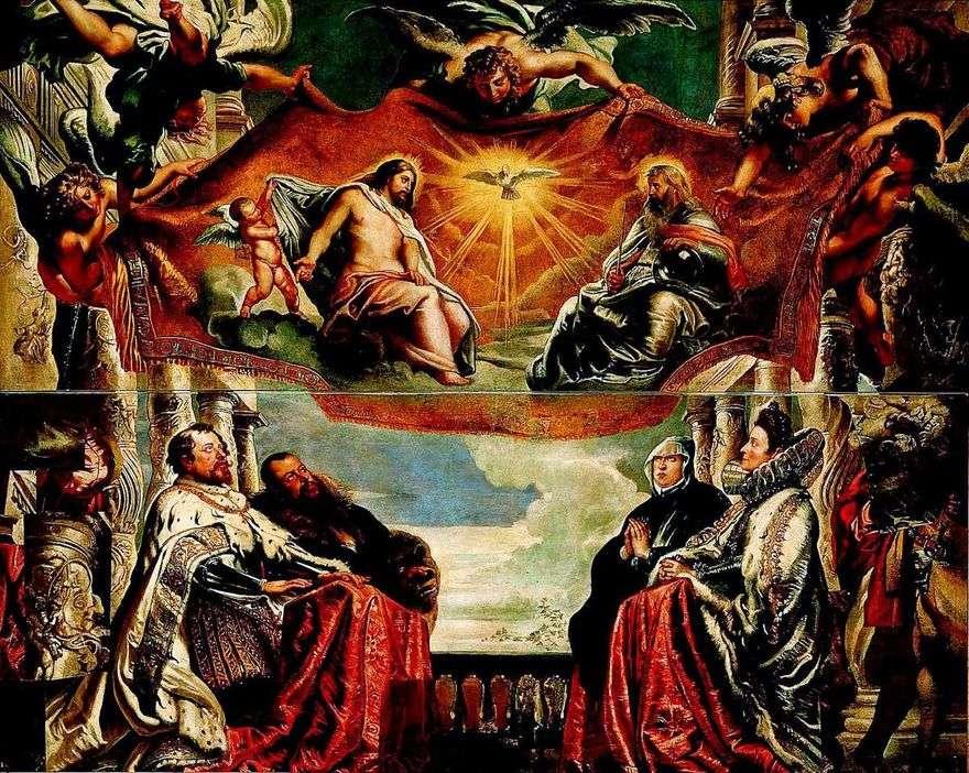 عائلة غونزاغا تعبد الثالوث   بيتر روبنز