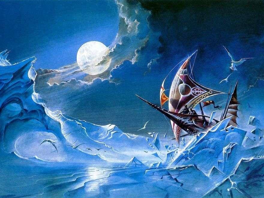 المنحدرات في الليل. معركة الجليد   بروس بنينجتون