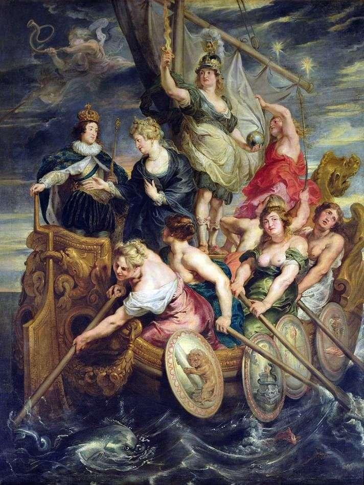 احتفالية لويس الثالث عشر   بيتر روبنز