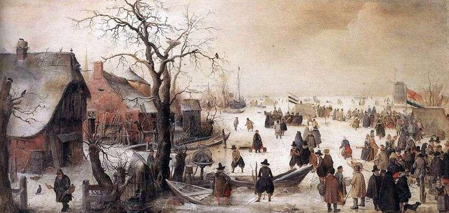 الشتاء على القناة   هندريك أفركامب
