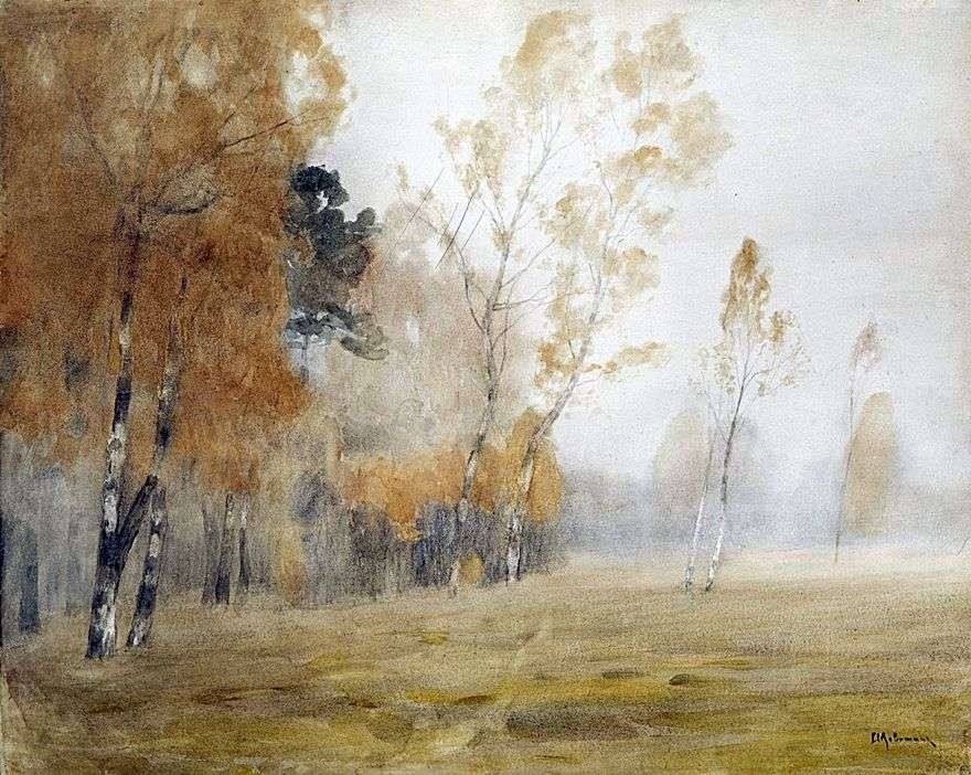 الضباب. الخريف   إسحاق ليفيتان