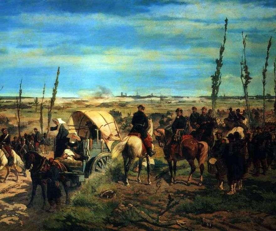 معسكر إيطالي في معركة ماجنتا   جيوفاني فتوري