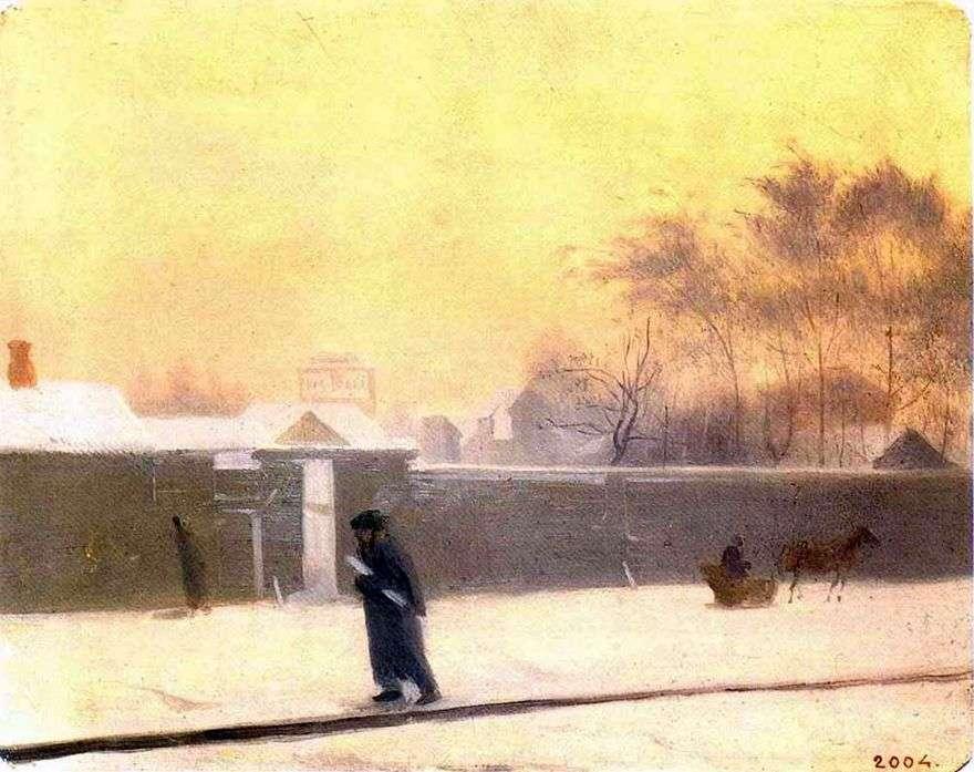 يوم الشتاء   بافل فيدوتوف