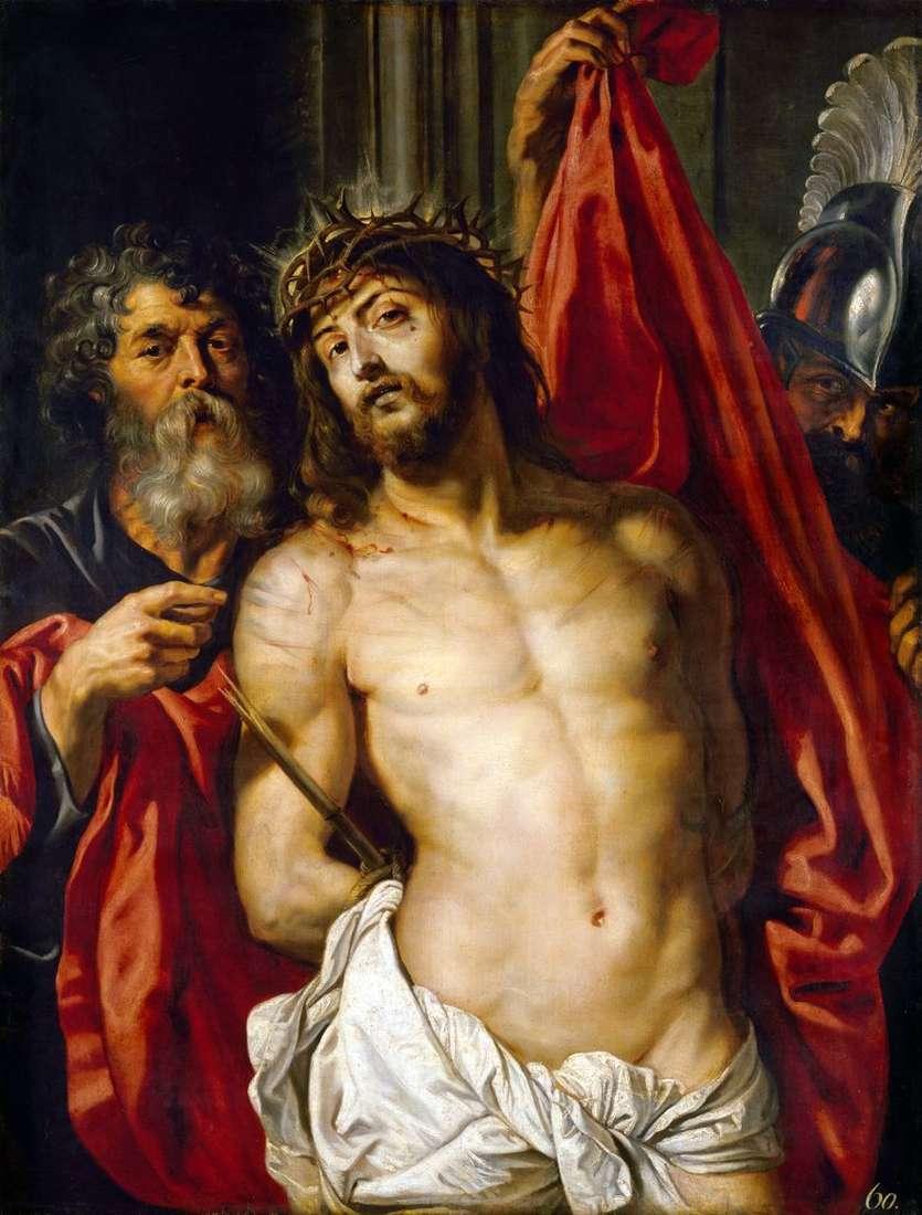 المسيح في تاج الشوك   بيتر روبنز