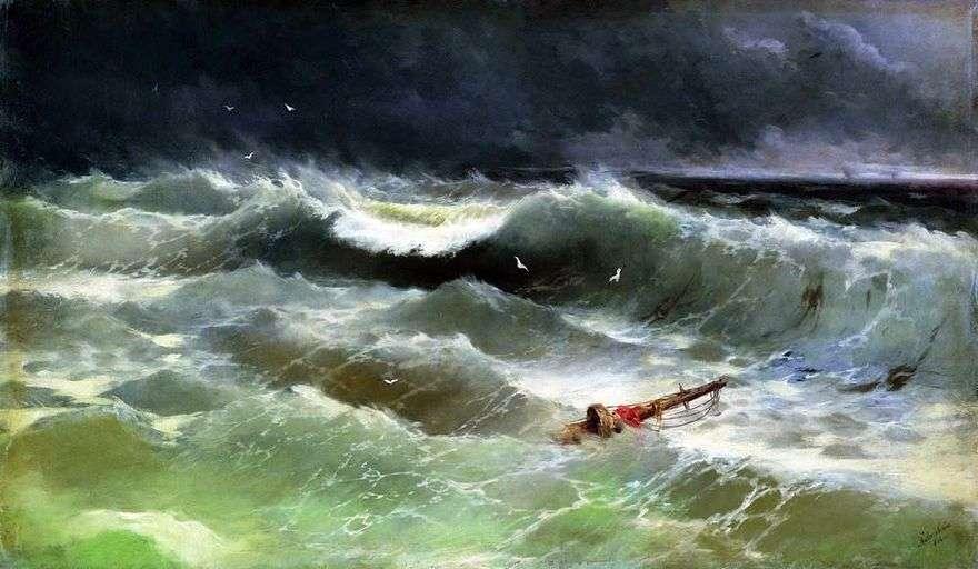 العاصفة   إيفان إيفازوفسكي