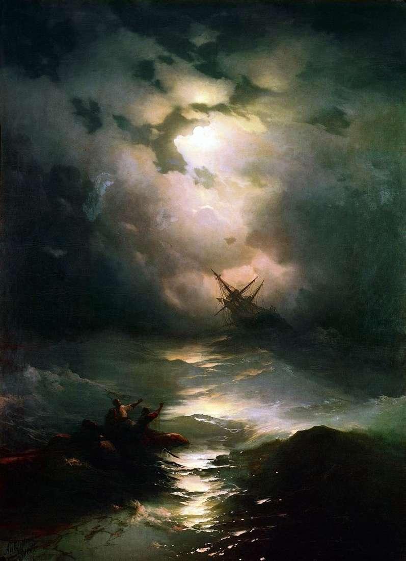 العاصفة على بحر الشمال   إيفان إيفازوفسكي