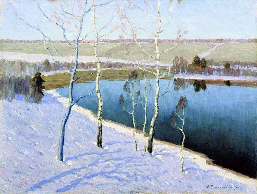 أوائل الربيع   Vitold Byalynitsky Birulya