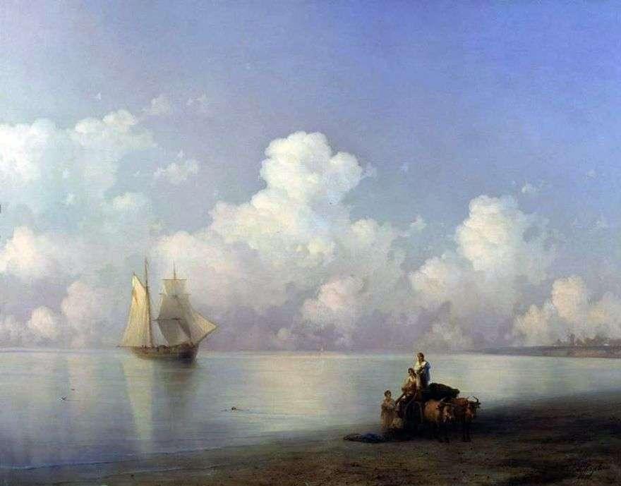 المساء في البحر   إيفان إيفازوفسكي