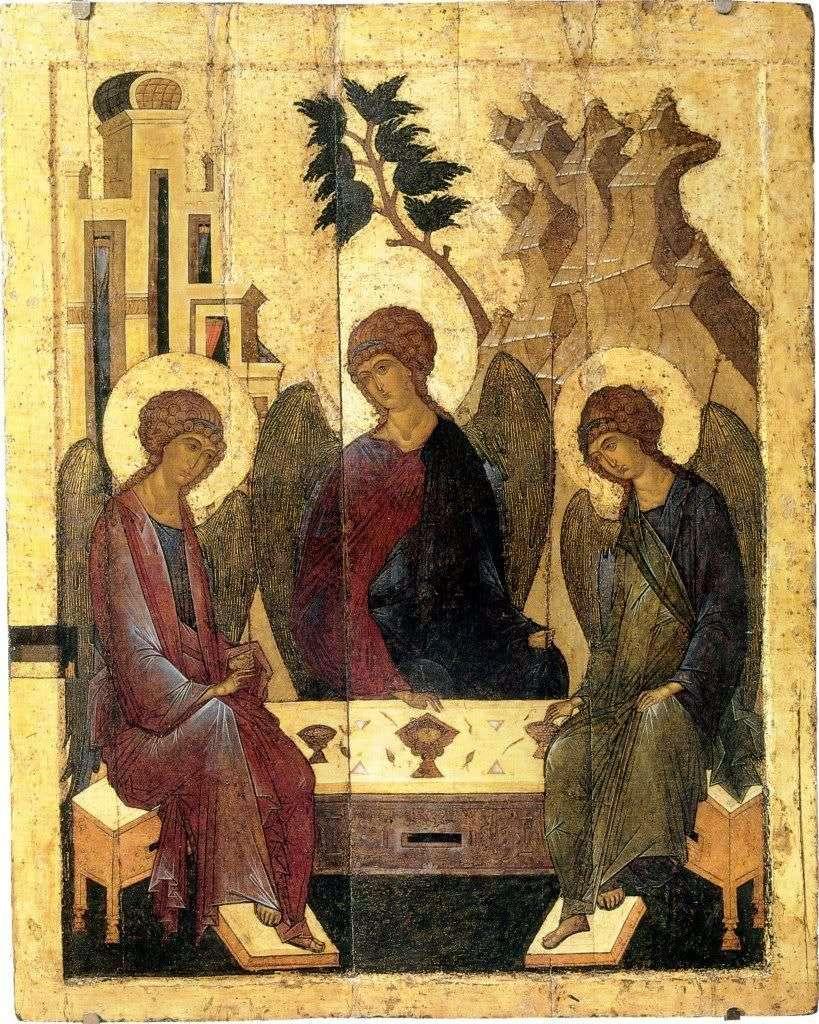 الثالوث   اندريه روبليف