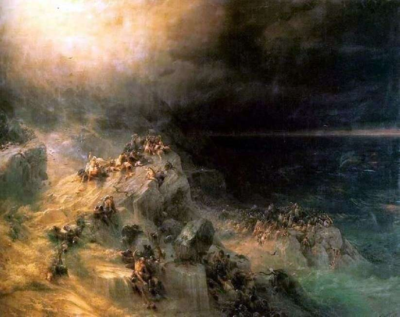 الفيضان   إيفان إيفازوفسكي