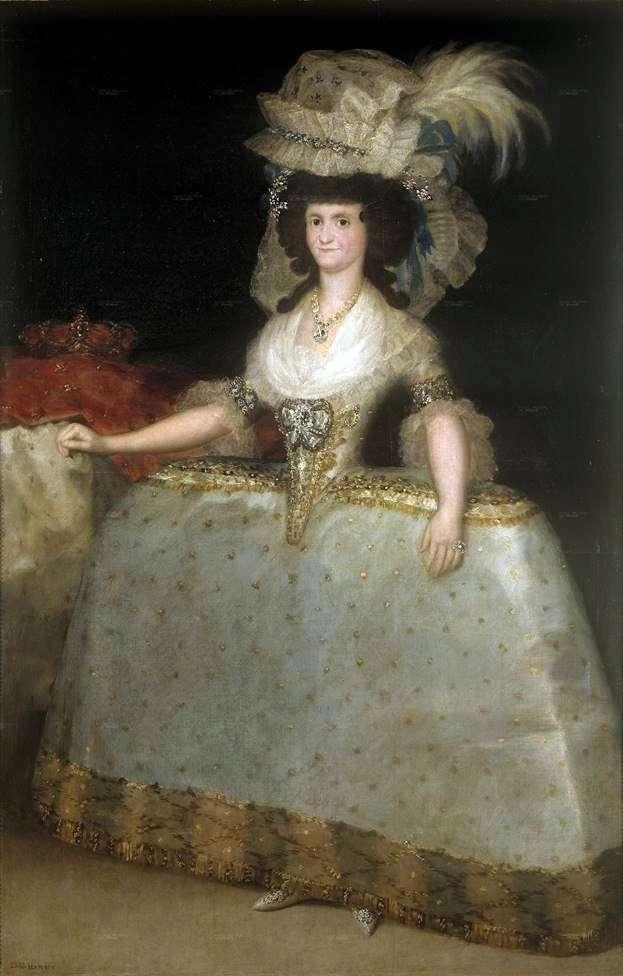 ماريا لويزا   فرانسيسكو دي غويا