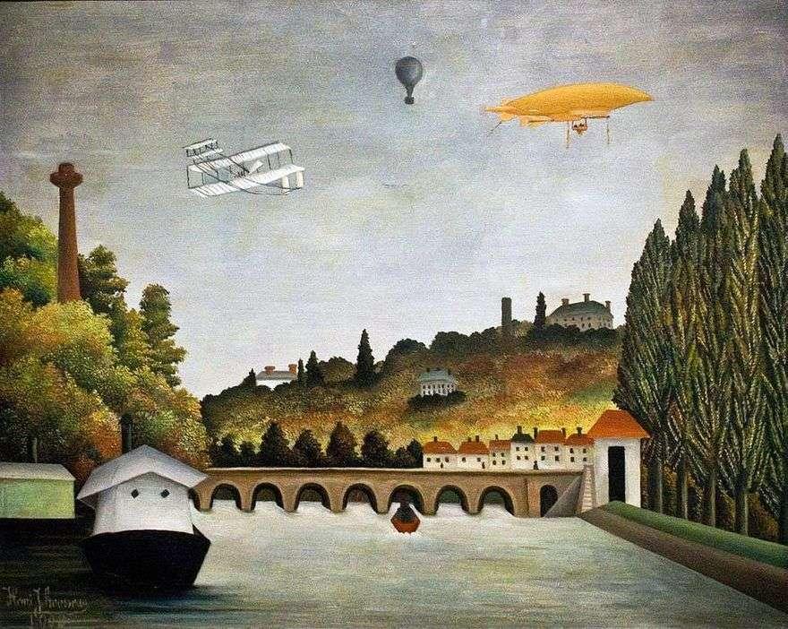 منظر من جسر Sevres   هنري روسو