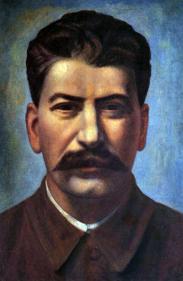 صورة جوزيف ستالين   بافل فيلونوف