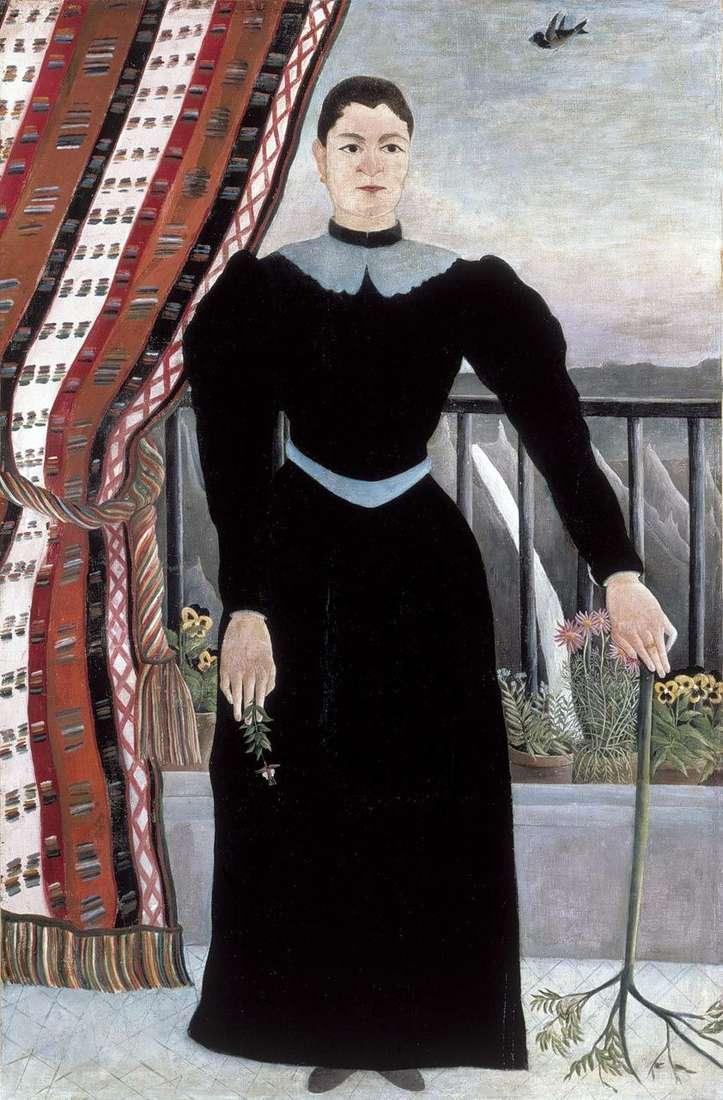 صورة لامرأة   هنري روسو