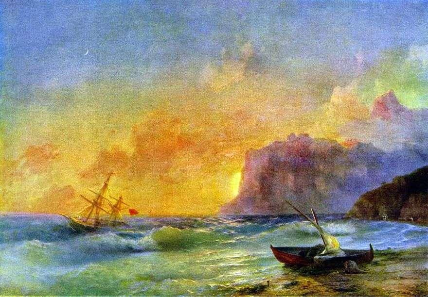 البحر خليج كوكتيب   إيفان إيفازوفسكي