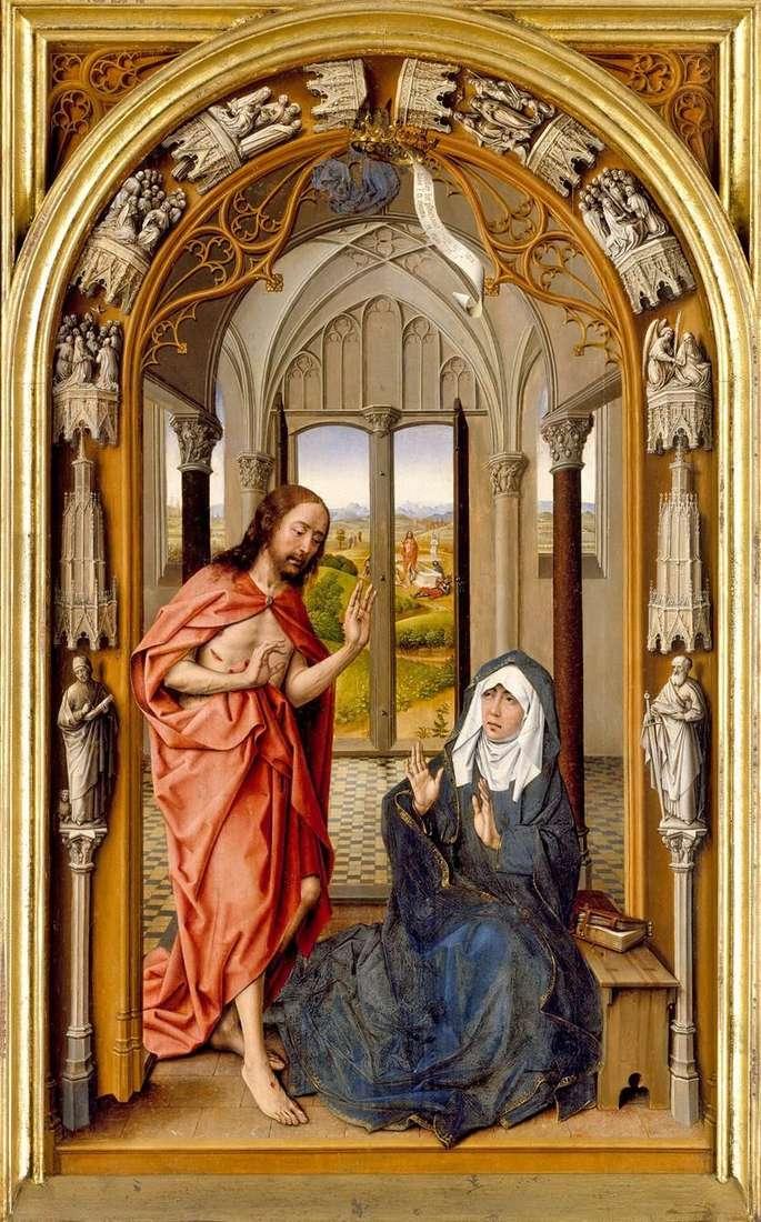 ظهور المسيح لمريم   خوان دي فلاندز