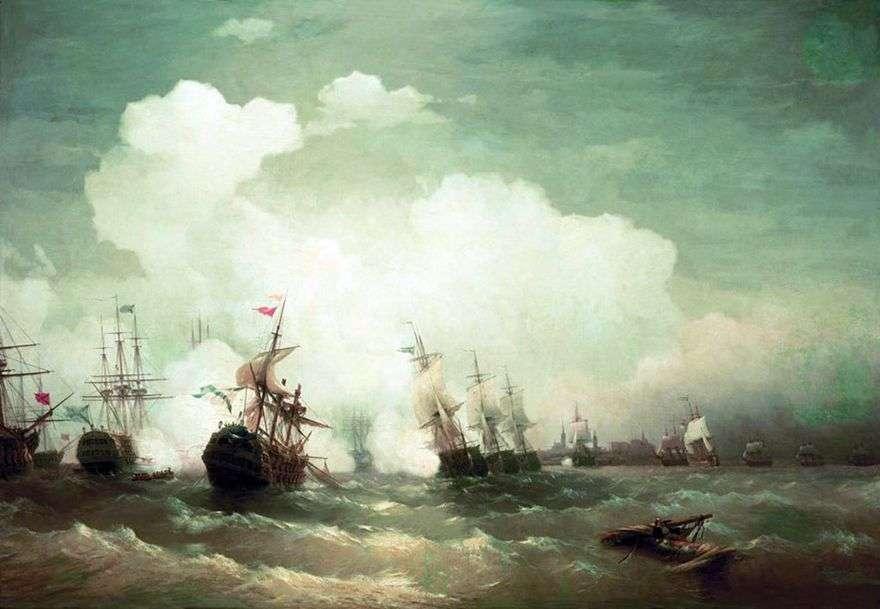 معركة ريفيل البحرية   إيفان إيفازوفسكي