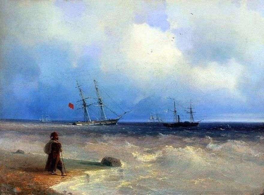 شاطئ البحر   إيفان إيفازوفسكي