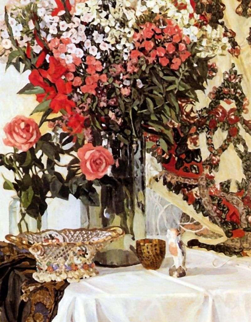 لا تزال الحياة الزهور في إناء   الكسندر Golovin
