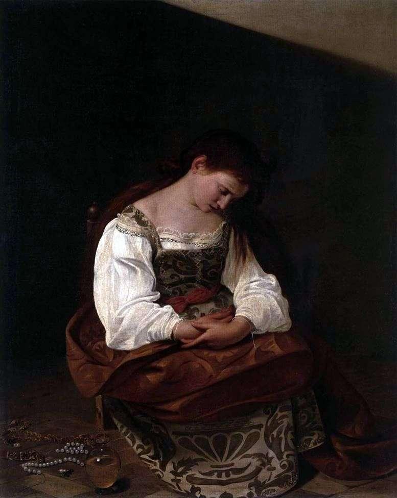 The Penitent Magdalen   Michelangelo Merisi da Caravaggio