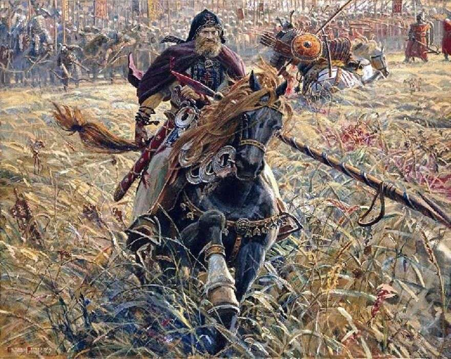 انتصار بيريسفيت   بافيل ريشنكو