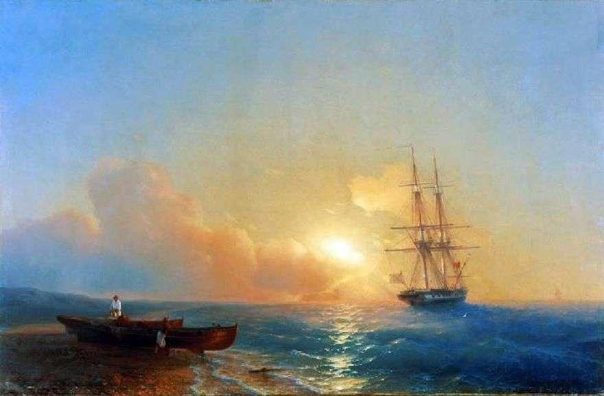 الصيادون على الشاطئ   إيفان إيفازوفسكي
