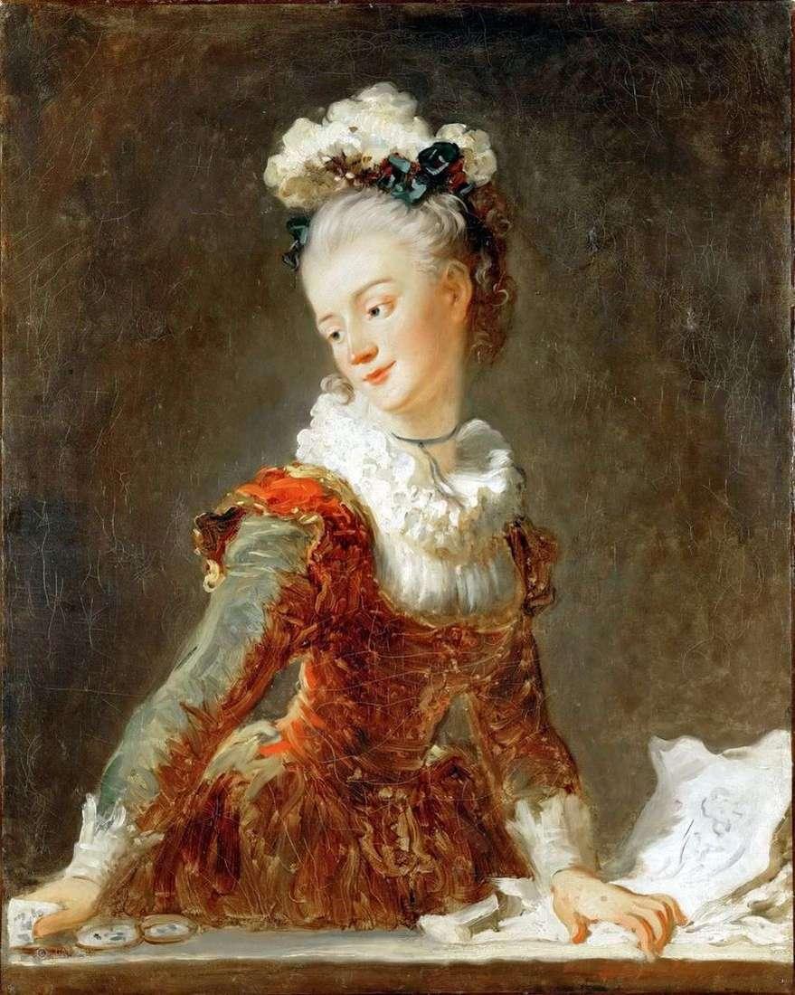 راقصة باليه ماري مادلين حمار   جان هونوري فراجونارد