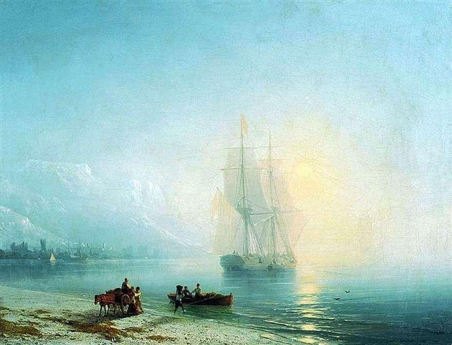 هدوء البحر   إيفان إيفازوفسكي