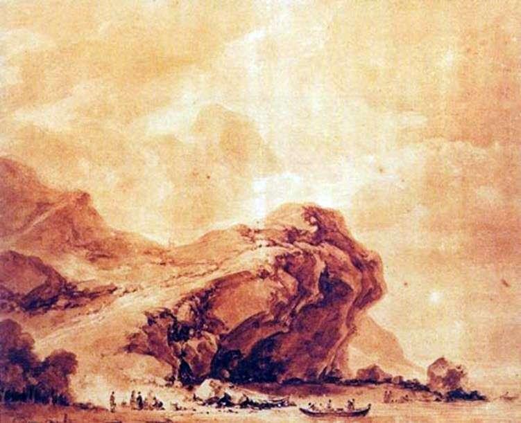 منظر للساحل بالقرب من جنوة   جان هونوري فراجونارد