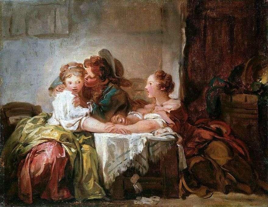 فاز قبلة   جان هونوري Fragonard