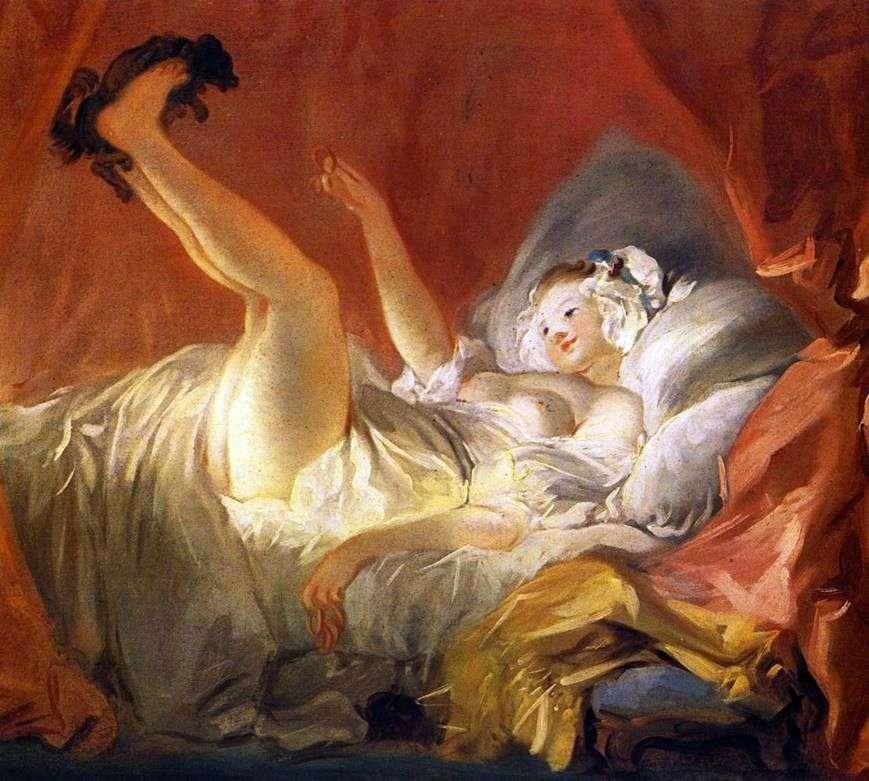 فتاة تلعب مع كلب   جان أونوريه Fragonard
