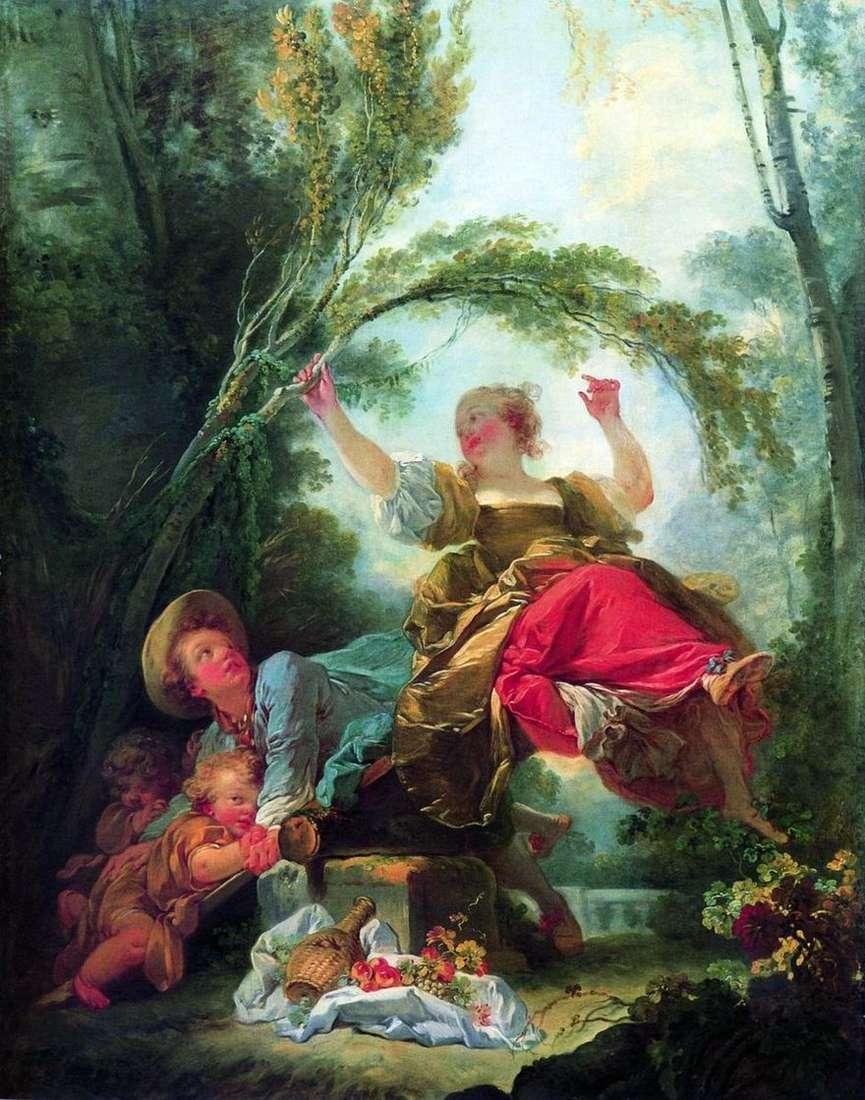 أرجوحة الأطفال   Jean Honore Fragonard