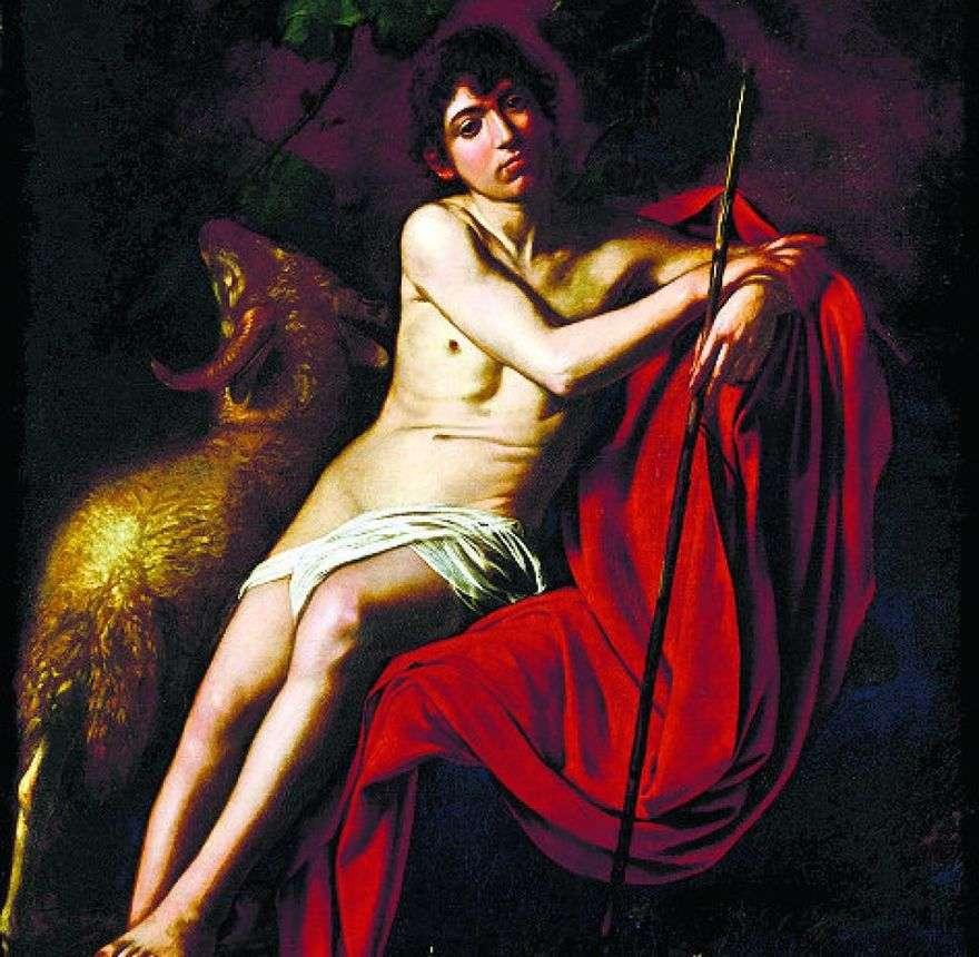 القديس يوحنا المعمدان   مايكل أنجلو مريسي دا كارافاجيو