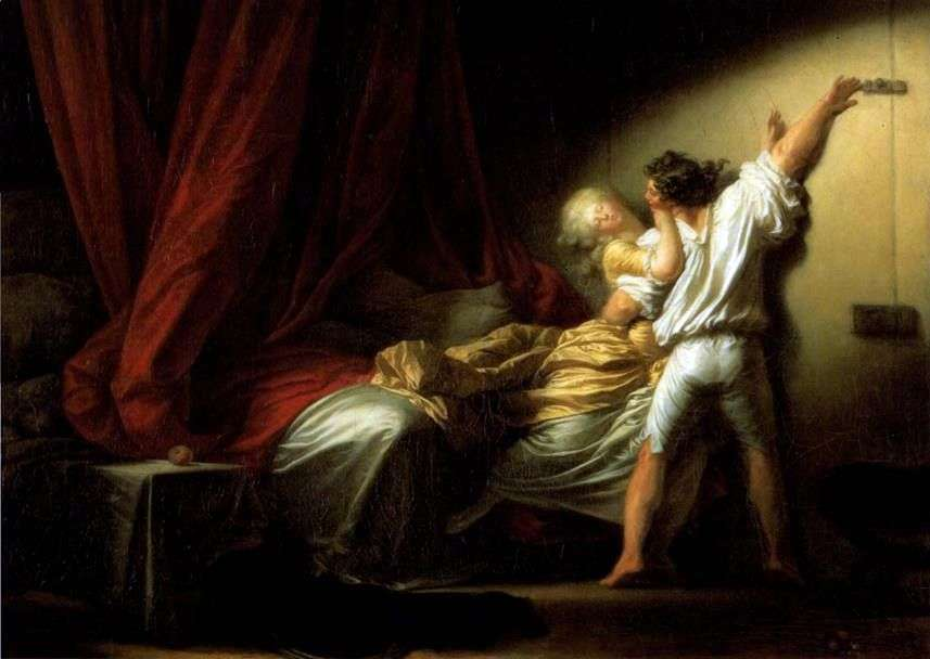 مزلاج   جان هونوري Fragonard