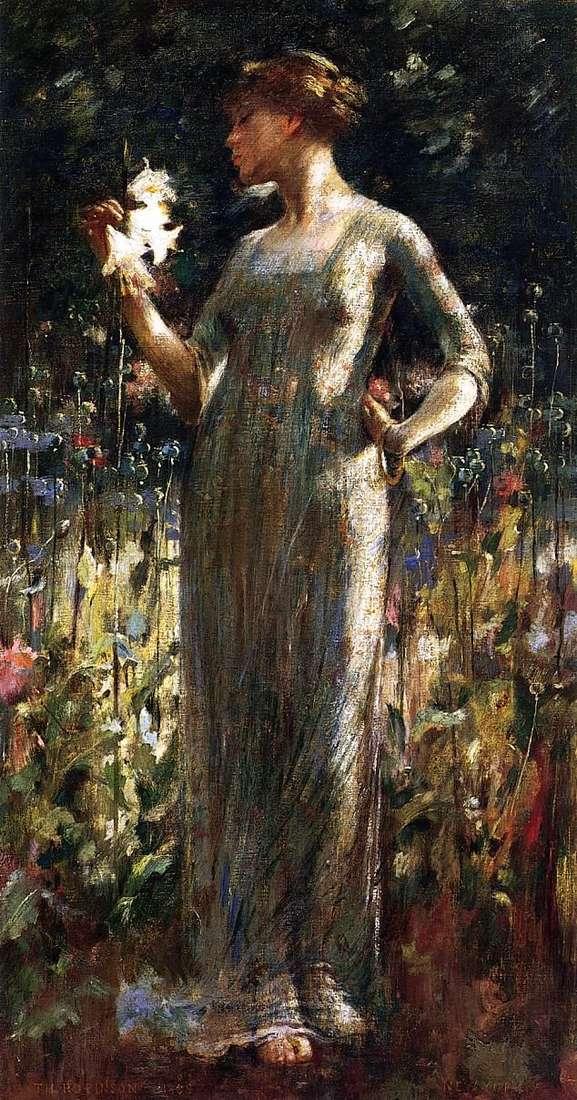 ابنة الليل (فتاة مع باقة من الزنابق)   جون وايت الكسندر