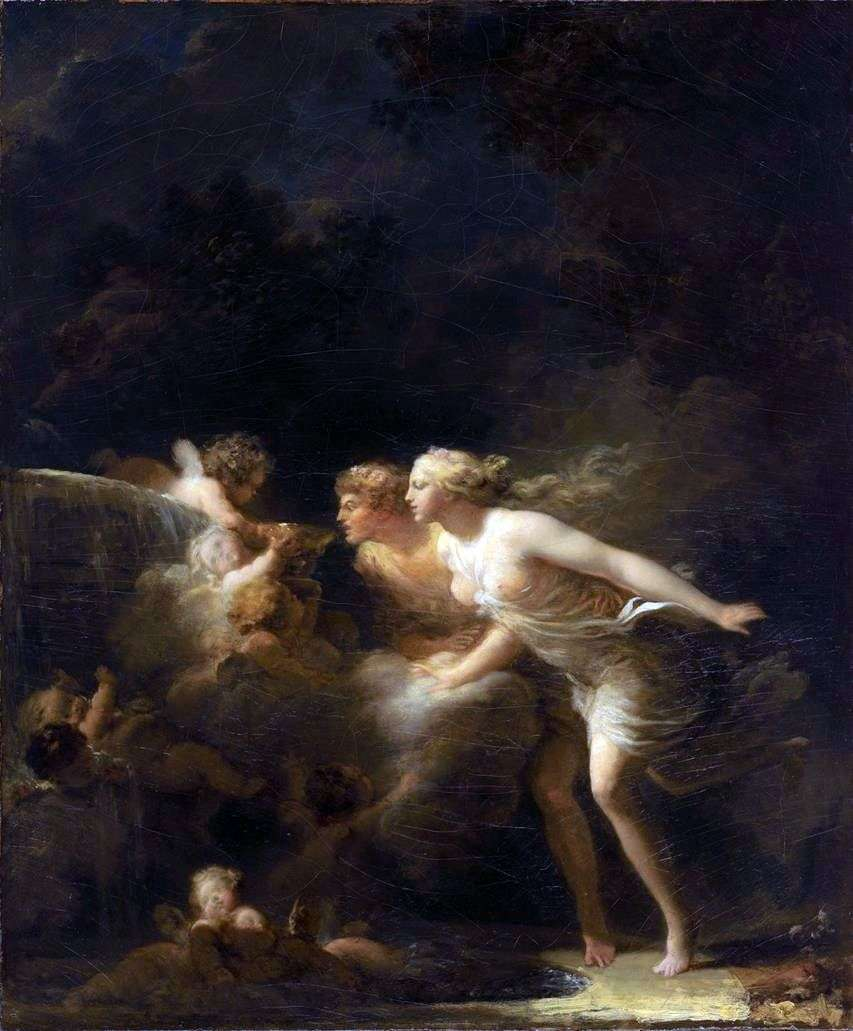 مصدر الحب   جان هونوري Fragonard