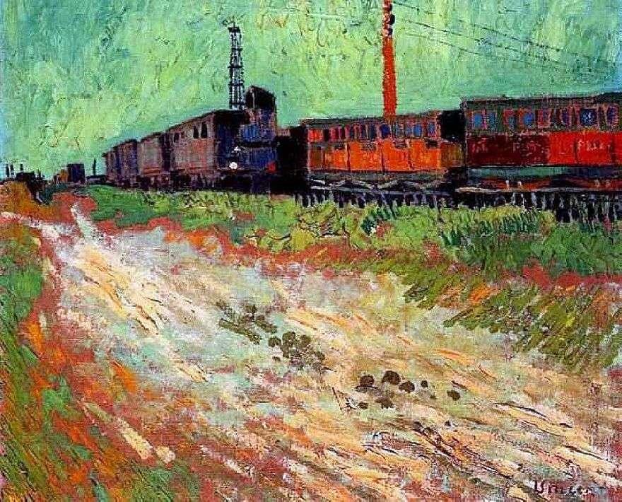 عربات السكك الحديدية   فنسنت فان جوخ