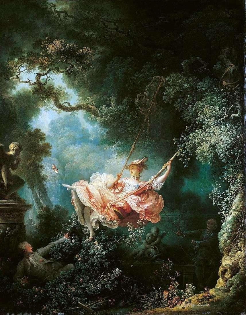 أراجيح   جان أونوريه Fragonard