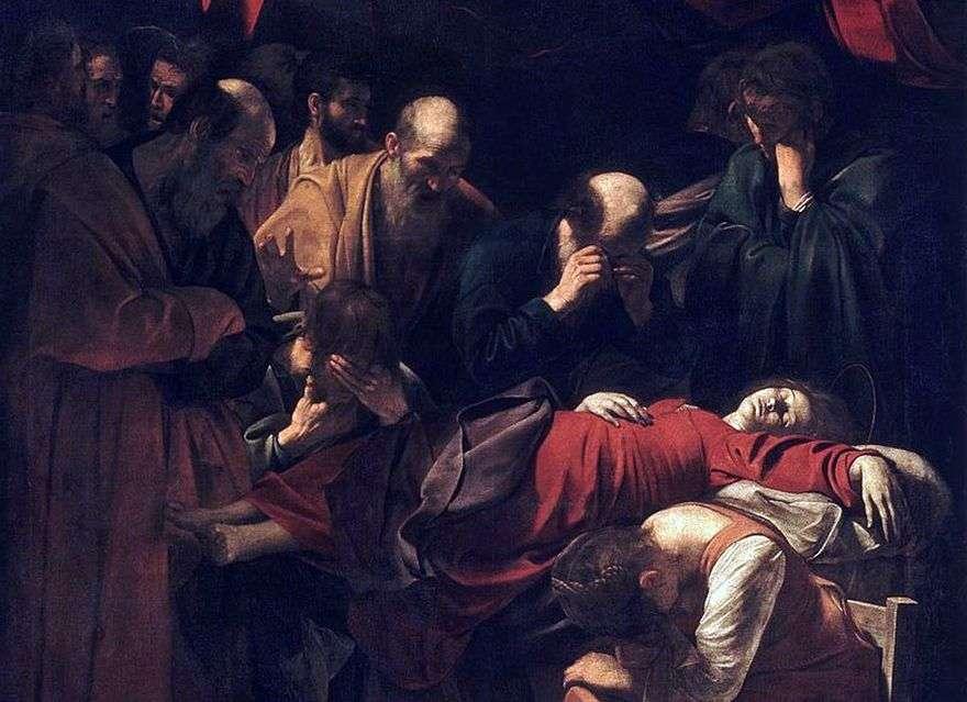 وفاة ماري   مايكل أنجلو ميريسي دا كارافاجيو