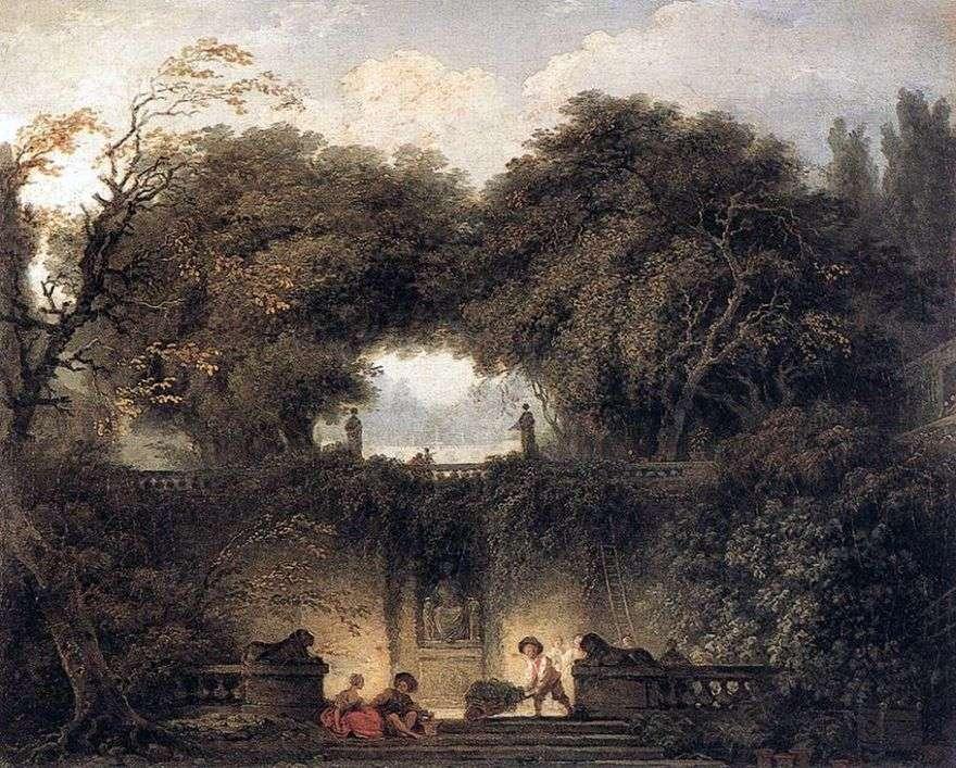 ليتل بارك   جان هونوري Fragonard