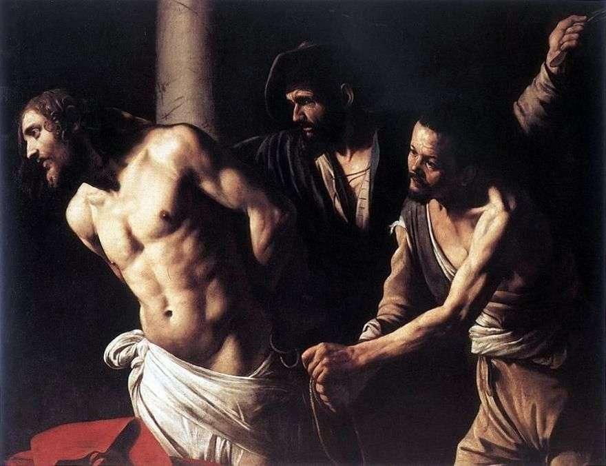 المسيح في العمود   مايكل أنجلو ميريسي دا كارافاجيو