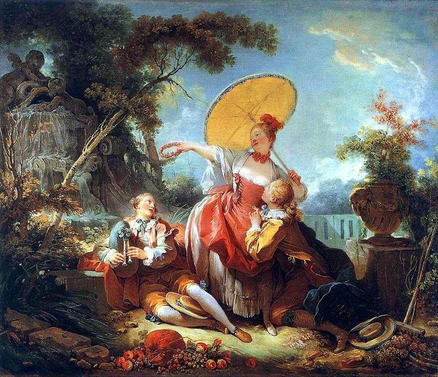 رهان موسيقي   جان أونوريه Fragonard