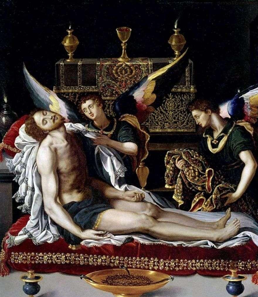 اثنين من الملائكة في جسد المسيح   اليساندرو ألوري