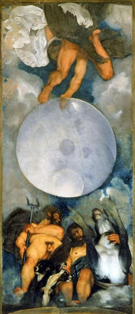 كوكب المشتري ، نبتون وبلوتو   مايكل أنجلو ميريسي دا كارافاجيو