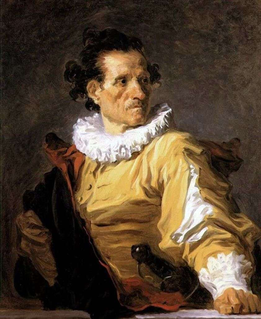 صورة لمحارب   جان أونوريه Fragonard