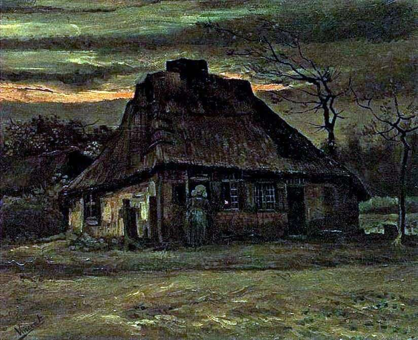 كوخ   فنسنت فان جوخ