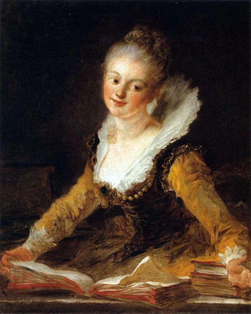 صورة سيدة كمتحف للعلوم   جان أونوريه فراجونارد