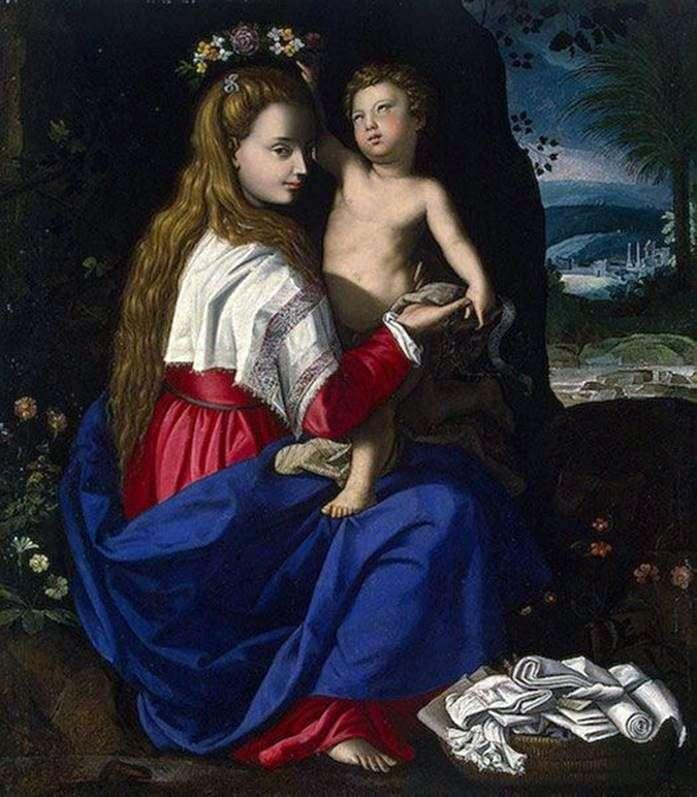 مادونا والطفل   اليساندرو ألوري