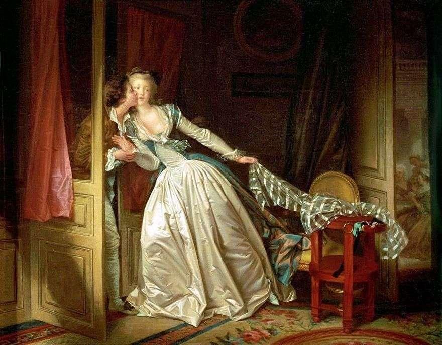 قبلة الفراء   جان هونور Fragonard